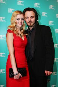 Gracie Otto and Matt Newton at the opening gala night and premiere of
