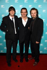 Toby Schmitz, Ewen Leslie and Matt Newton at the Australian premiere of