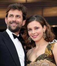Director Nanni Moretti and Jasmine Trinca at the premiere of