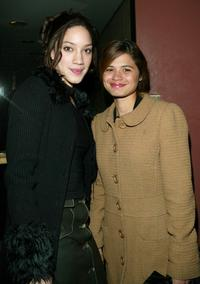 Judy Marte and Melonie Diaz at the premiere of