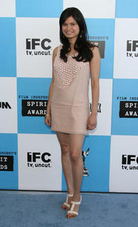 Melonie Diaz at the 22nd Annual Film Independent Spirit Awards in Santa Monica, CA.