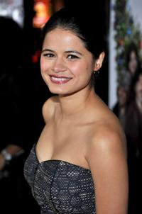 Melonie Diaz at the premiere of