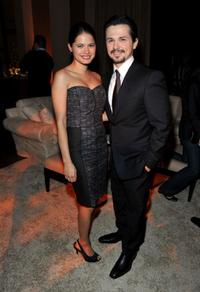 Melonie Diaz and Freddy Rodriguez at the after party of the premiere of