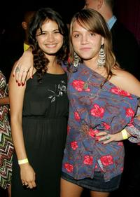 Melonie Diaz and Julia Garro at the after party of the premiere of