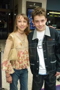 Ashley Edner and Bobby Edner at the premiere of