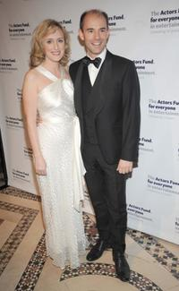 Jenna Russell and Daniel Evans at the Actors Fund 2008 Gala.