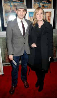 Daniel Evans and Jenna Russell at the premiere of
