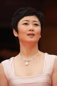 Zhao Tao at the premiere of