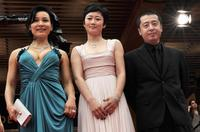 Joan Chen, Zhao Tao and Jia Zhang Ke at the screening of