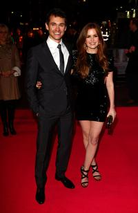 Hugh Dancy and Isla Fisher at the UK premiere of
