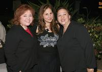 Patrika Darbo, Kathy Najimy and Amy Hill at the VDAY West LA 2006 cocktail reception.