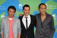 Chang Chen, Daniel Wu and Liu Ye at the photocall of