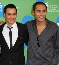 Daniel Wu and Liu Ye at the photocall of