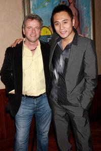 Aidan Quinn and Liu Ye at the private screening of