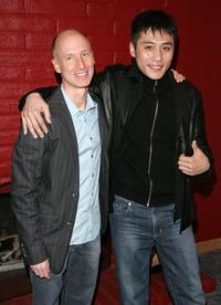Billy Shebar and Liu Ye at the premiere of