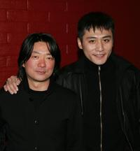Director Chen Shi-Zheng and Liu Ye at the premiere of