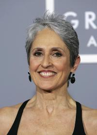 Joan Baez at the 49th Grammy Awards.