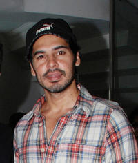 Dino Morea at the Bandra Environment press conference in Mumbai.