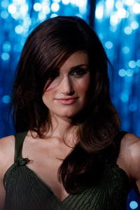 Idina Menzel at the L.A. premiere of