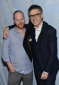 Producer Joss Whedon and Ira Glass at the California premiere of