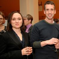 Sarah Vowell and Dan Savage at the WNYC Radio Circle presents