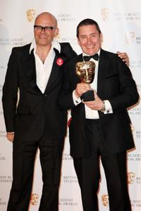 Harry Hill and Jools Holland at the BAFTA Television Awards 2009.