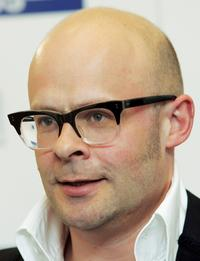 Harry Hill at the Sony Radio Academy Awards.