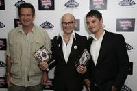 Nigel Marven, Harry Hill and Matt Willis at the British Comedy Awards 2006.