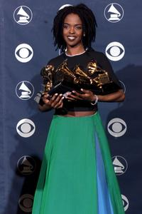 Lauryn Hill at the 41st Annual Grammy Awards.