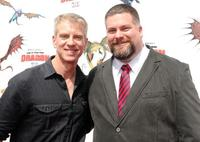 Director/writer Chris Sanders and Dean DeBlois at the premiere of