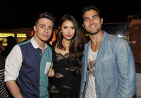 Colton Haynes, Nina Dobrev and Tyler Hoechlin at the Entertainment Weekly's 5th Annual Comic-Con Celebration in California.