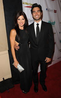 Rachel Brooke Smith and Tyler Hoechlin at the 2nd Annual Thirst Project Gala in California.