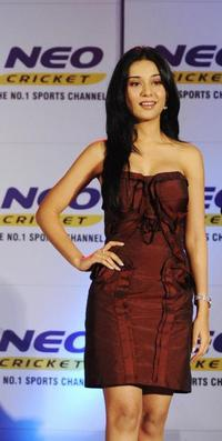Amrita Rao at the promotional event for NEO Sports.