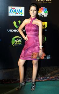 Amrita Rao at the Fashion Extravaganza during the 2009 International Indian Film Academy Awards.