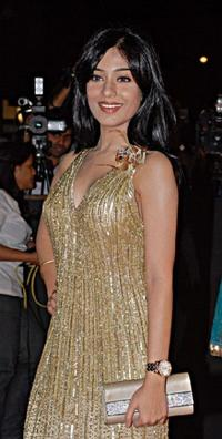 Amrita Rao at the Awards Ceremony in Mumbai .