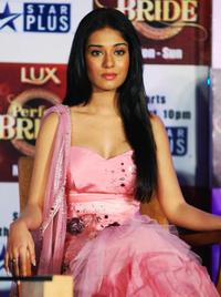 Amrita Rao at the launch of the new television reality show