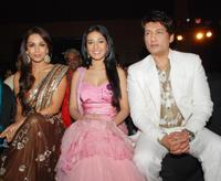 Mallaika Arora Khan, Amrita Rao and Shekhar Suman at the launch of the new television reality show