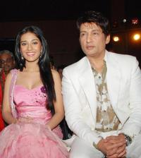Amrita Rao and Shekhar Suman at the launch of the new television reality show