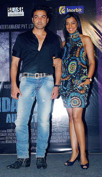 Bobby Deol and Mugdha Godse at the release of the soundtrack for