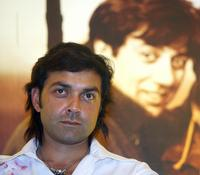 Bobby Deol at the promotion of