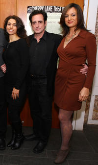 Josie Vitetta, Sean Patrick Reilly and Lucia Grillo at the Richard Vetere's 60th birthday celebration.