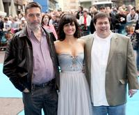 Ciaran Hinds, Carla Gugino and Andy Fickman at the UK premiere of
