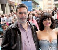 Ciaran Hinds and Carla Gugino at the UK premiere of