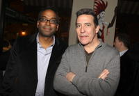 Director Bharat Nalluri and Ciaran Hinds at the after party of