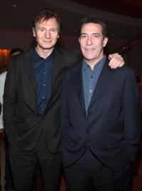 Liam Neeson and Ciaran Hinds at the premiere of