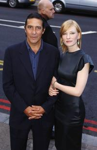 Ciaran Hinds and Cate Blanchett at the UK premiere of
