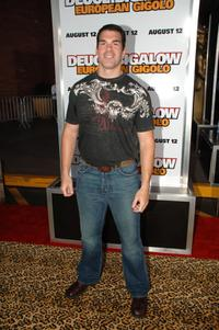 Brandon Molale at the premiere of