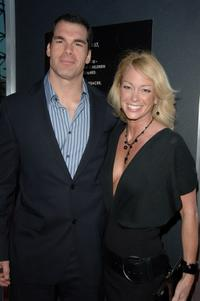 Brandon Molale and Kim Wolfe at the special VIP screening of