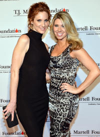 Judith Hoag and Lindsay Mayer at the TJ Martell Honors Gala.