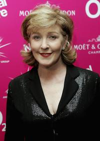 Patricia Hodge at the National Theatre: Fast Forward reception.